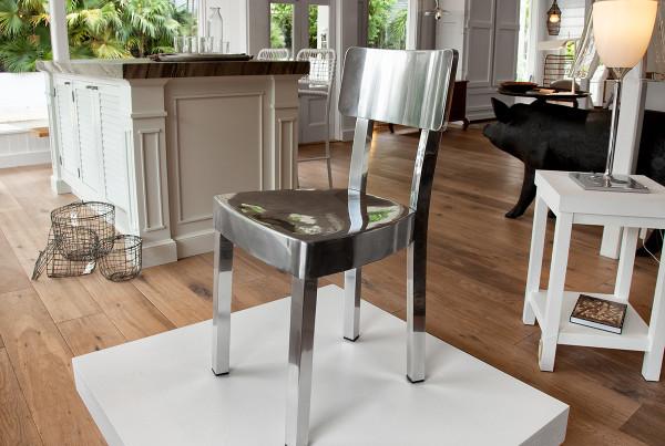 chrome-chair